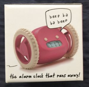 ALARM CLOCK THAT MAKES YOU CHASE IT TO GET UP! for Sale in Oceanside, CA