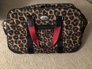 Brighton Rolling Leopard Carry on Bag for Sale in LAUD BY SEA, FL