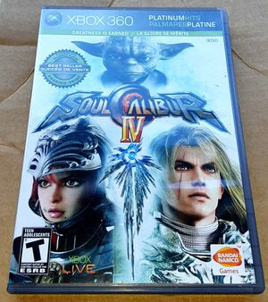 Xbox 360 Soul Caliber lV video game.. for Sale in Orlando, FL