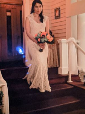 Wedding dress (up for the next week only) for Sale in West Springfield, MA