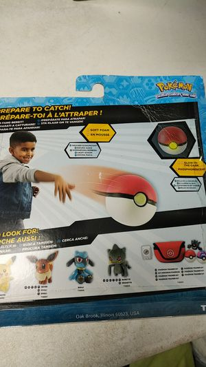 Pokemon Throw n Catch Poke ball 3-pack for Sale in Arcadia, CA