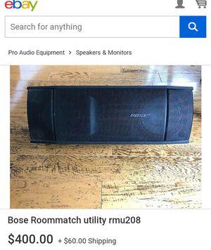 BOSE RMU208 SMALL FORMAT LOUDSPEAKER for Sale in Pacifica, CA