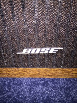 Bose speakers. Fabric torn on one side for Sale in Bellefonte, PA