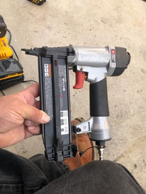 18 gauge finish nail gun for Sale in Los Angeles, CA