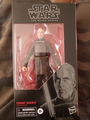 Starwars black series Count Dooku action figure for Sale in West Covina, CA