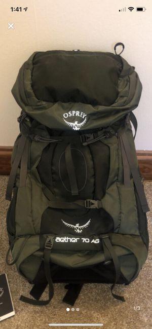 OSPREY Aether 70L Medium AG Men's Backpack for Sale in Sellersville, PA
