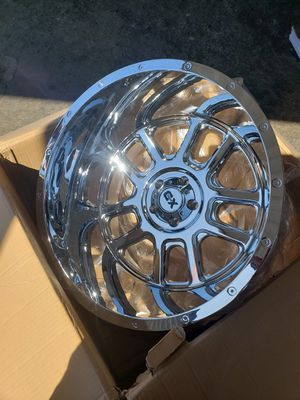 XD 22X14 5 WHEELS AND TIRES JEEP 5X5 for Sale in Fresno, CA