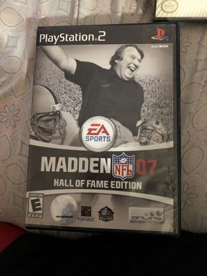 Vintage Madden Hall of fame Edition for PS2 for Sale in Washington, DC