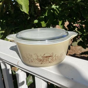 VINTAGE PYREX 'FOREST FANCIES' CASSEROLE DISH for Sale in Oceanside, CA