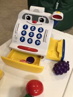 Kids toy cash register for Sale in Ashburn, VA