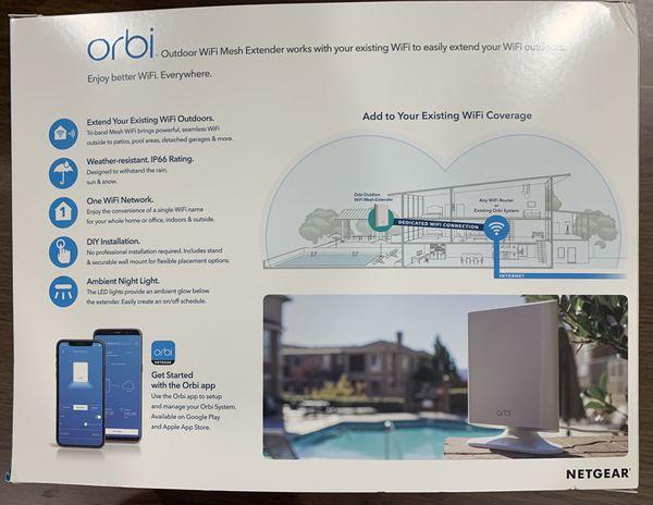 Orbi wifi extender