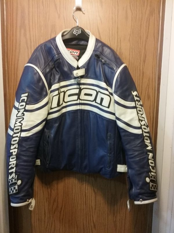 Icon Daytona armored leather jacket