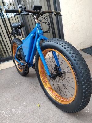 Electric Fat Tire Bike for Sale in Palm Springs, FL