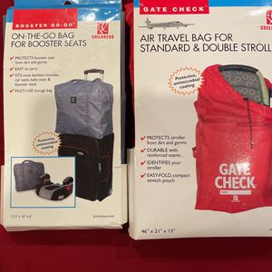 Stroller And Booster Seat Travel Bags for Sale in La Habra, CA