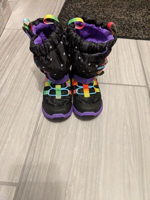 My little pony snow boots kids size 11.5 for Sale in Vienna, VA