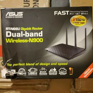 New ASUS RT-N66U GIGABIT DUAL-BAND WIRELESS ROUTER for Sale in Los Angeles, CA