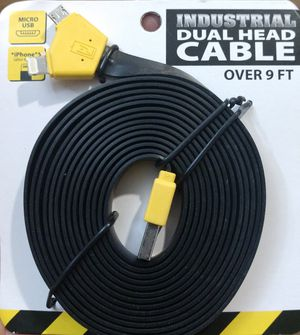 New 9 foot micro and ipad charger cable for Sale in Ontario, CA