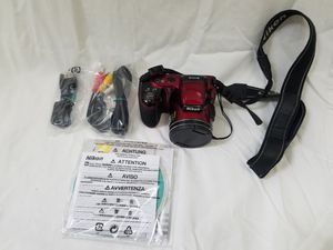 Nikon L810 + case + Accessories for Sale in San Jose, CA