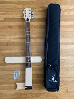 Travel Guitar from Cross guitar: acoustic steel with gig bag for Sale in Torrance, CA