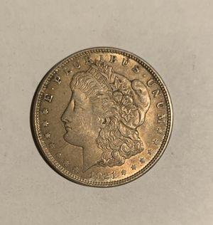 1921 Morgan dollar 90% silver coin for Sale in Culver City, CA