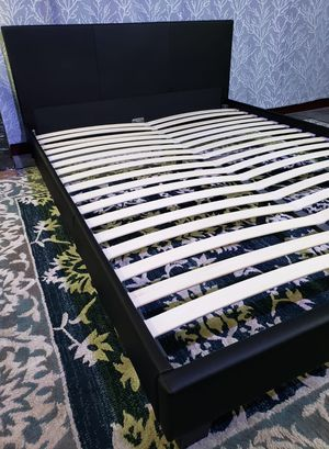 New QUEEN upholstered bed frame, mattress sold separately for Sale in West Palm Beach, FL