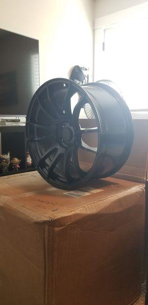 AVID1 AV-20 18x8.5 5x114.3 Et 33 Matte Black Wheels FULL Set OF 4 RIMS for Sale in Hillsboro, OR