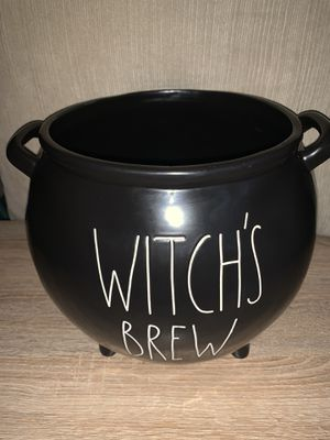 Rae Dunn Large Witch's Brew Cauldron for Sale in Eden Prairie, MN