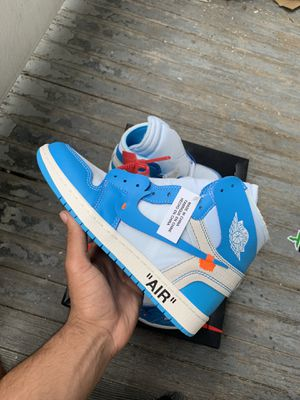 "Off-White x Air Jordan 1 ""UNC"" for Sale in Bedford, NH"
