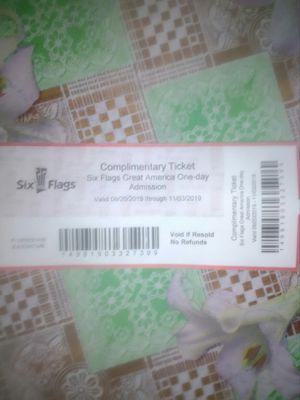 Boletos para el Six Flags for Sale in Aurora, IL