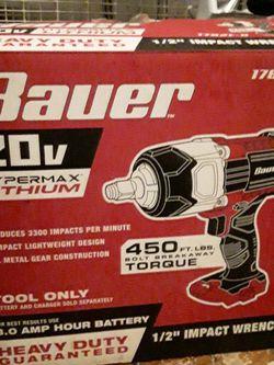 Bauer 20v Drill for Sale in Springfield,  IL