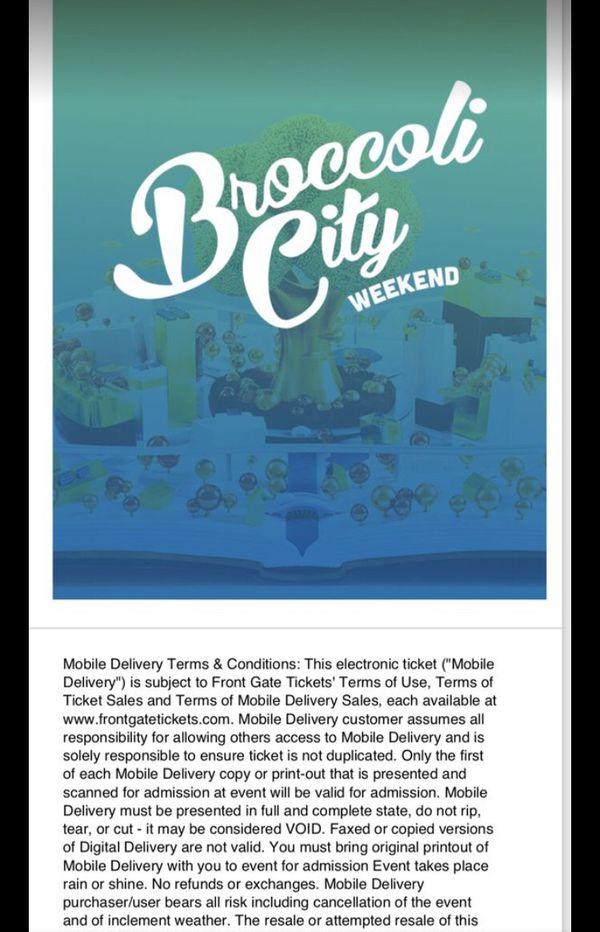 Broccoli Fest tickets