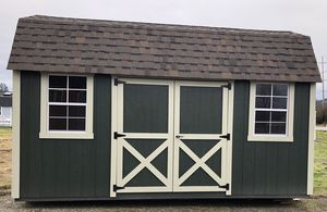 8x16 Barn Style Portable Building for Sale in Monroe, WA