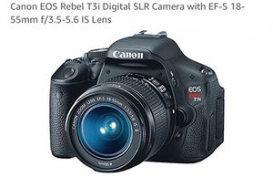 Canon Rebel T3i EOS for Sale in New Haven, CT