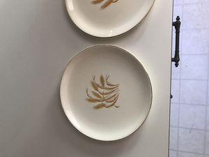 Homer Laughlin Golden Wheat Bread Plates for Sale in Wichita, KS