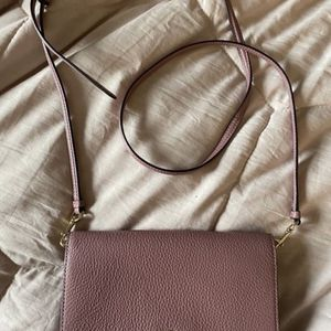 Pink Coach Fold over Crossbody Bag for Sale in Fountain Valley, CA