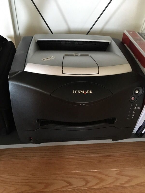Lexmark E232 printer