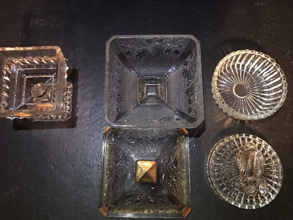Vintage Trinkets/Candy Dishes