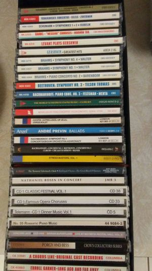 29 CD's Mostly Classical Music for Sale in Ocala, FL