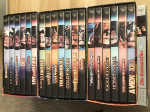 James Bond 007 Collection // 20 DVD Films for Sale in Seattle, WA
