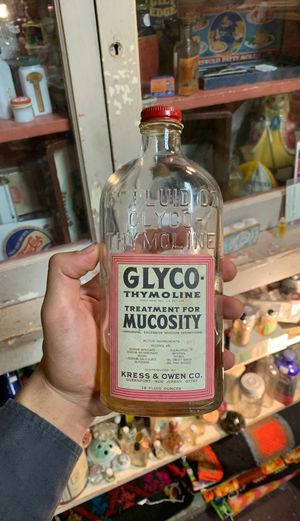 Original Antique Medication bottle with Fluid inside! for Sale in Azusa, CA