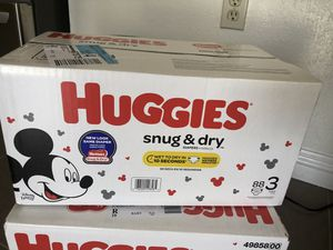 Huggies size 3 for Sale in South El Monte, CA