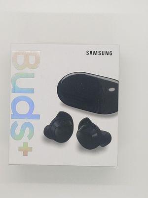 Black Samsung galaxy buds plus for Sale in Saginaw, MI