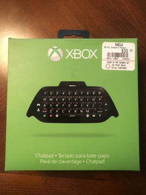 Xbox Chatpad for Sale in Fairfield, NJ