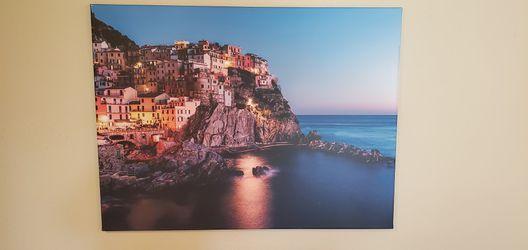 Cinque Terre 30x40 Canvas for Sale in Redmond,  WA