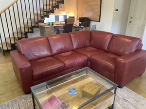 Red Sectional Couch for Sale in Fort Lauderdale, FL