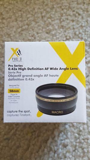 Camera accessories - wide angle lens for Sale in Arlington, VA