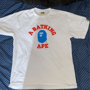 XL White Bape shirt for Sale in Warrenville, IL