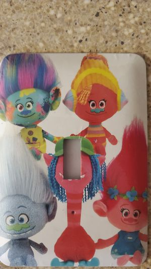 Trolls light switch cover for Sale in Huntley, IL