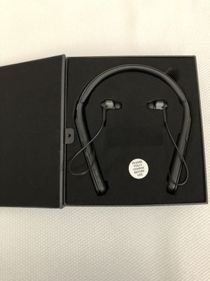 Sony WI-1000X Premium Wireless Noise Cancelling Behind-the-Neck Headphones - Black ( WI1000X ) for Sale in Garland, TX