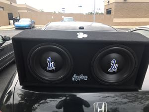 "West coast custom 1000 watt dual 10"" subwoofer for Sale in Gaithersburg, MD"